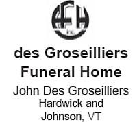 des Groseilliers Funeral Home Logo