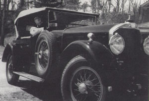 Charles Arnholm 1926 Mercedes Model K, Short Coupled Touring