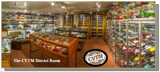 The CVTM Diecast Room