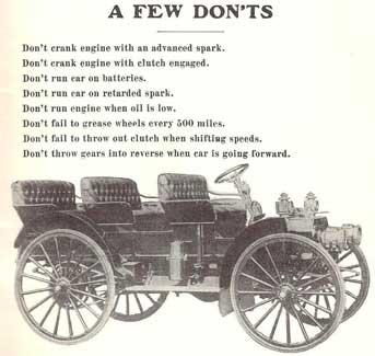 1910 Sears Motor Buggy advertisement