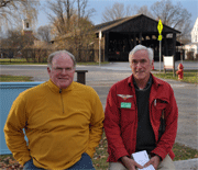 Bill Fagan and Ernie Clerihew