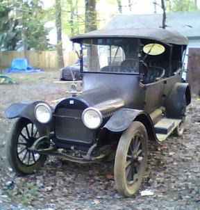 1915 Buick Tourer