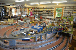 Bill's Lionel Train Layout