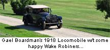 Gael Boardman's 1918 Locomobile