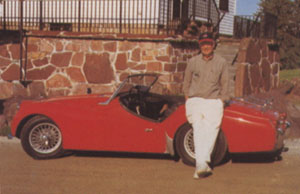 Fred Cook 1961 Triumph TR3A