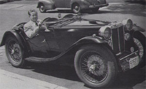 Ken Gypson 1936 MG PB