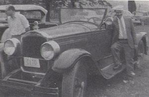 Pete Tacy's 1927 Packard Roadster
