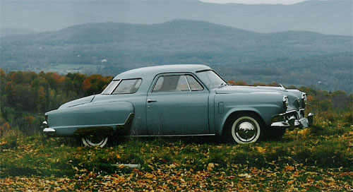 1952 Studebaker Commander Starlight Coupe
