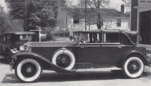 Walter D. Jones 1929 PI Rolls Royce