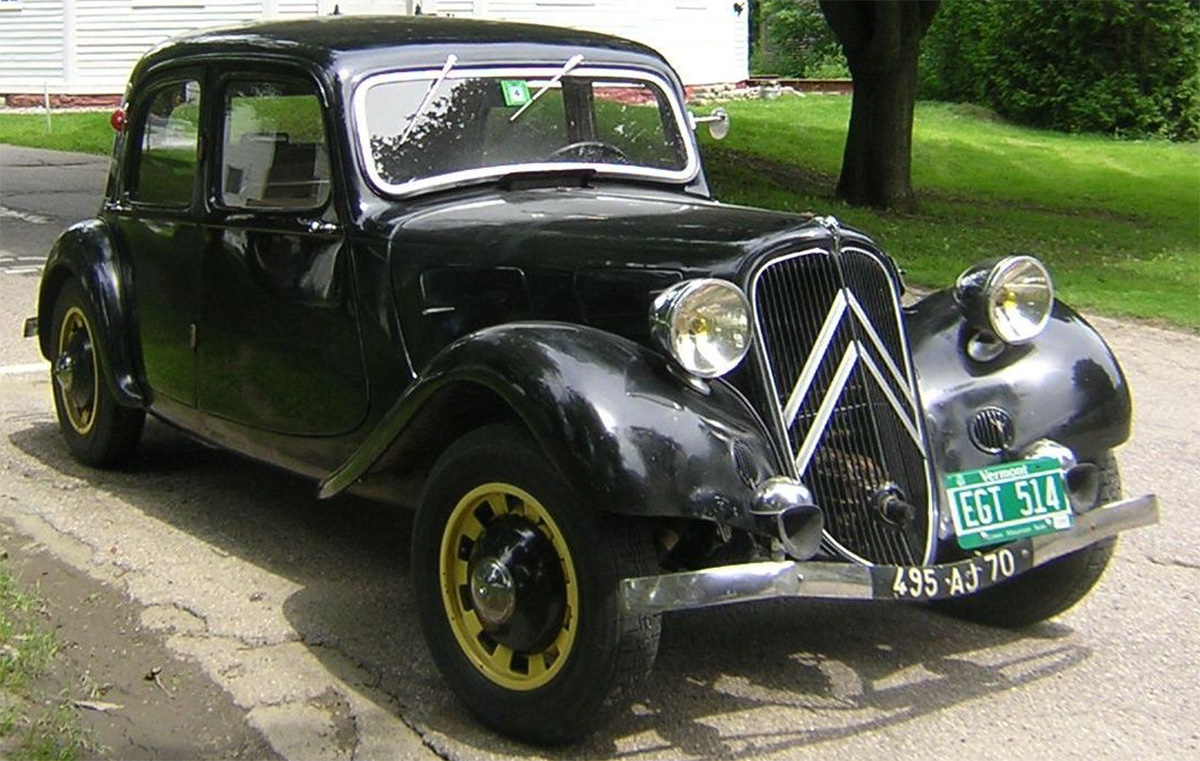 1936 citroen traction avant 7c