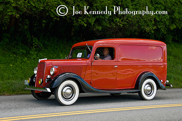 Antique Ford Panel Truck