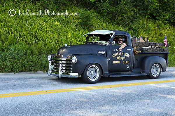 Catfish Bay Hunt Club Chevy pickup