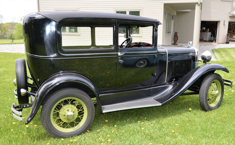 1930 ford model a tudor : ford model a car - markmcfarlin.com