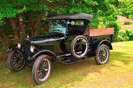 model t ford pickup