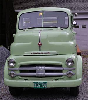 1951 dodge COE  2-ton