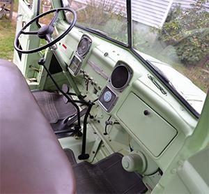 1951 dodge 2-ton interior