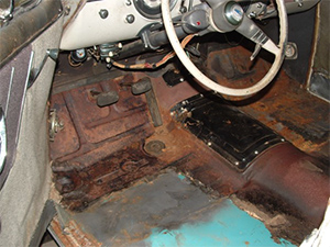1950 chevy deluxe interior