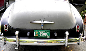 1950 chevy deluxe trunk