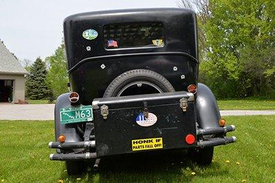 1930 whippet rear