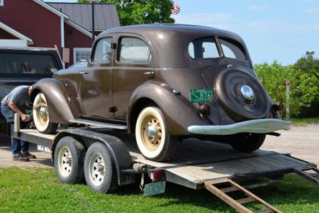 Gary & Nancy Olney's 1934 Aerodynamic Hupmobile | Vermont