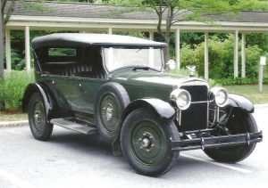 harry clayton stutz touring car