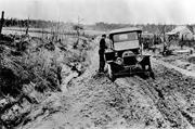 mud season vintage car