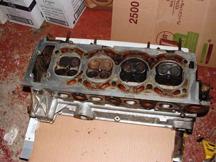 vw porsche cylinder head corrosion