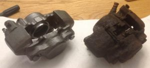 mgb brake calipers