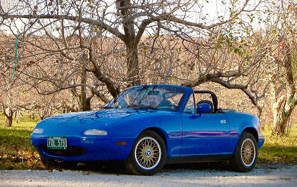 1989 Mazda Miata - Nancy & Don Perdue