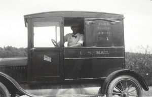 1923 ford mail truck fred noyes