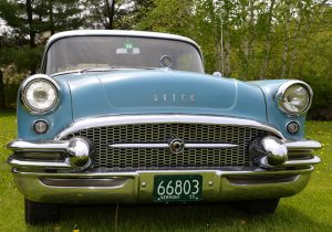 1955 Buick Special grille