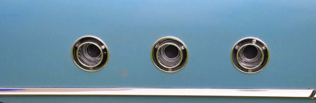 1955 Buick Special hood vents