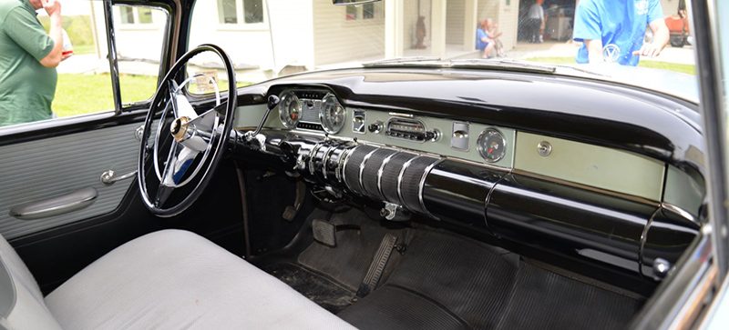 1955 Buick Special interior