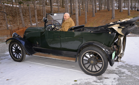 1919 Franklin Touring Car