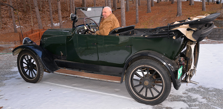 David Lamphere's 1919 Franklin Touring