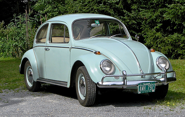 1966 VW Beetle 1300 Nancy Don Perdue