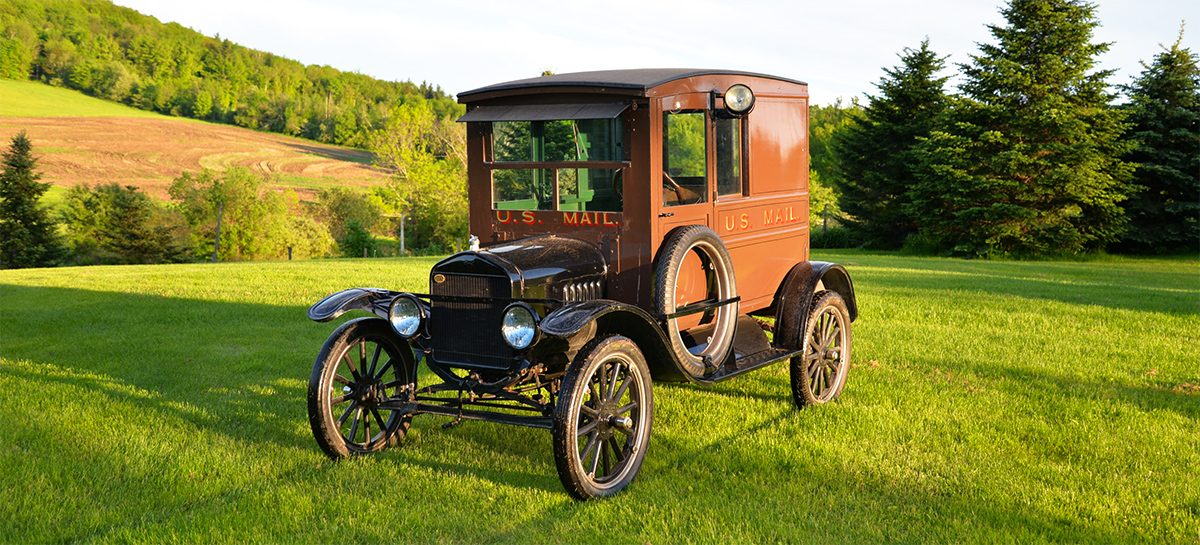 1923 ford model t mailtruck