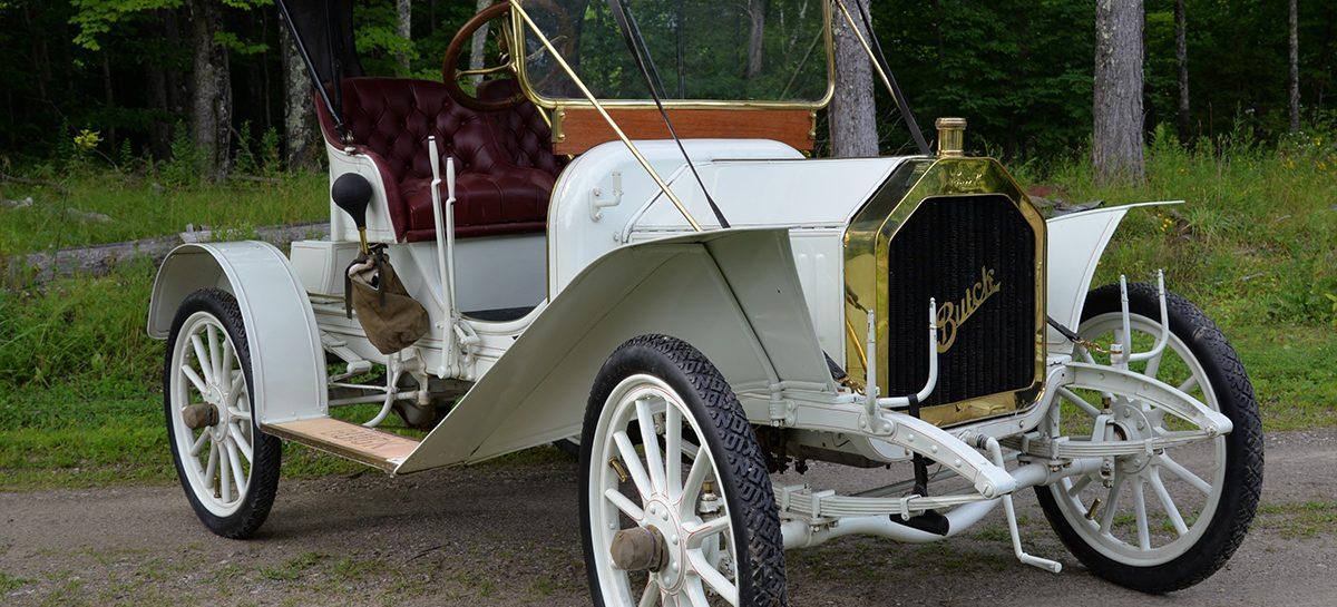 1908 buick model 10 banner