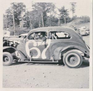 ken gypsum 1937 ford flatback racer