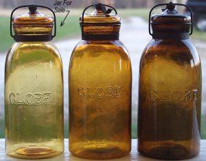globe ball jars