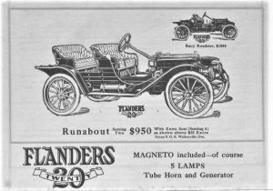 1911 flanders runabout advertisement