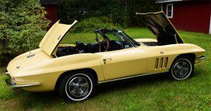 1966 stingray corvette