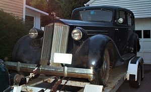 1935 packard limo