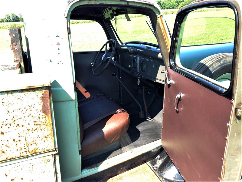 1937 dodge mc pickup interior