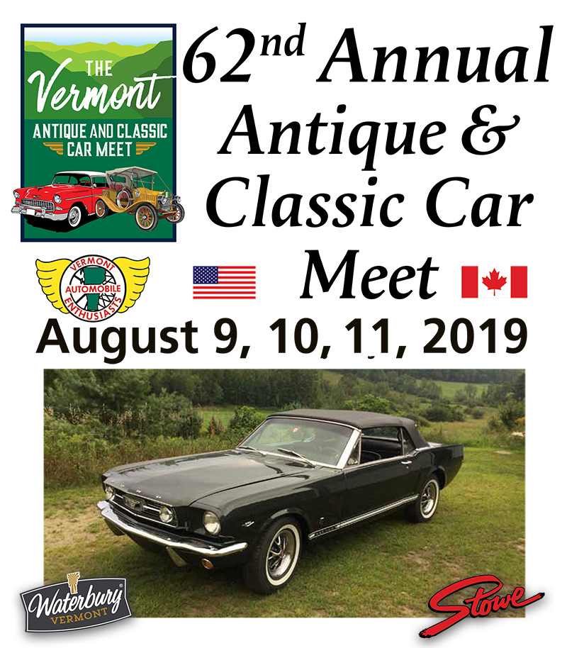 VAE VT antique classic car show 2019