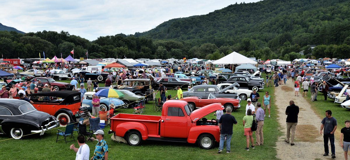 The Vermont Antique & Classic Automobile Show – 1957 to 2019