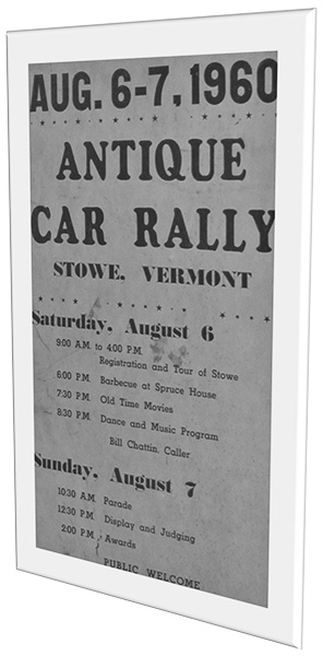 1960 stowe vt antique car rally