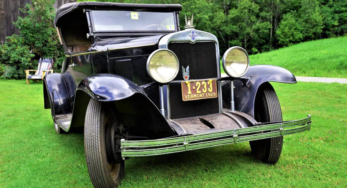 1929 chevy roadster banner