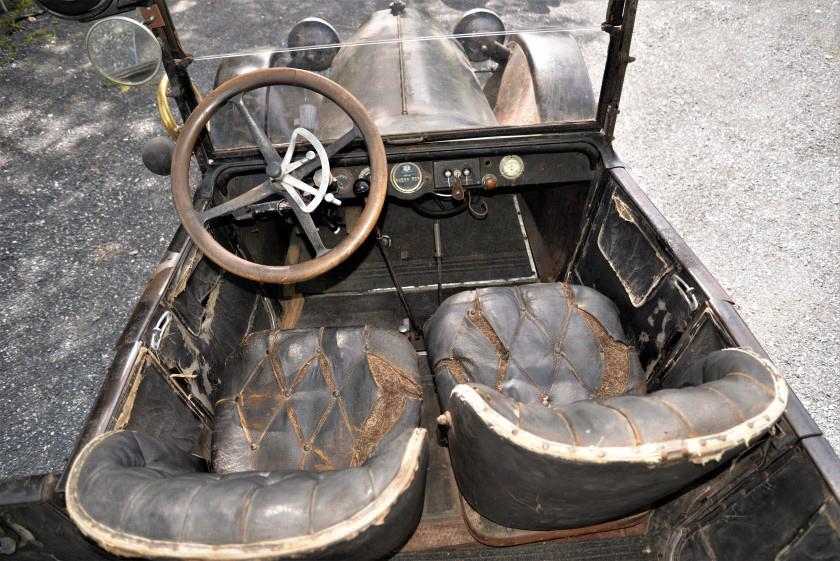 1917 studebaker touring interior