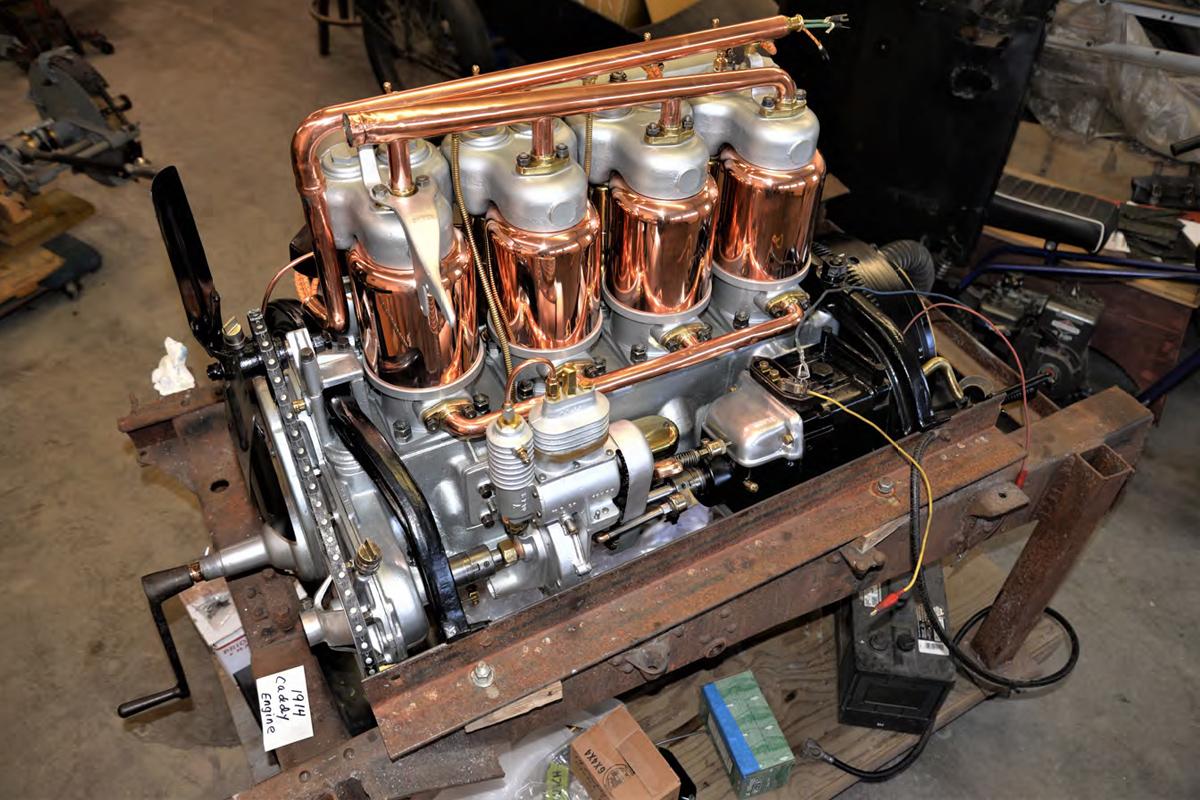 1914 Cadillac Engine